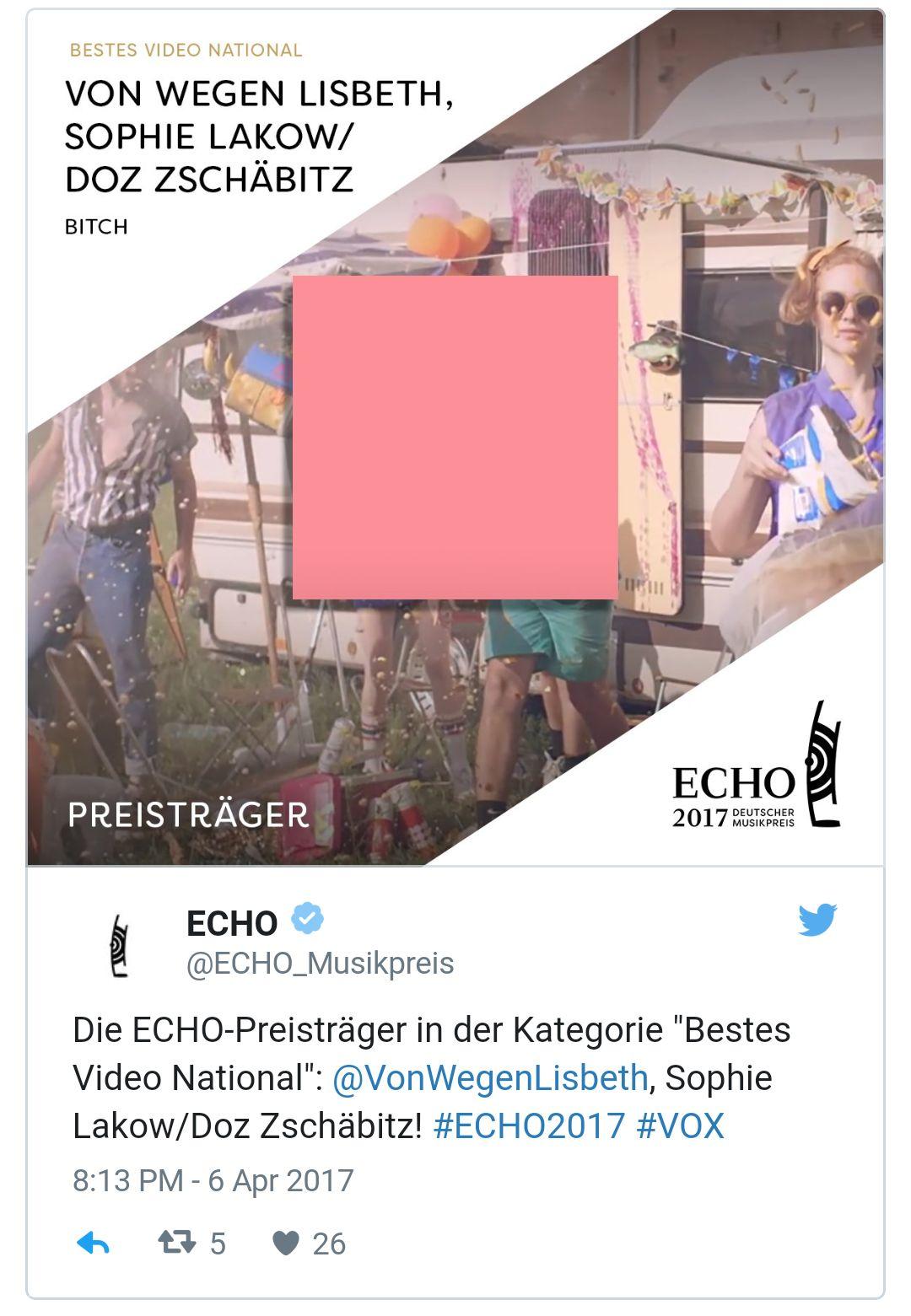 """Echo für """"Von wegen Lisbeth"""""""