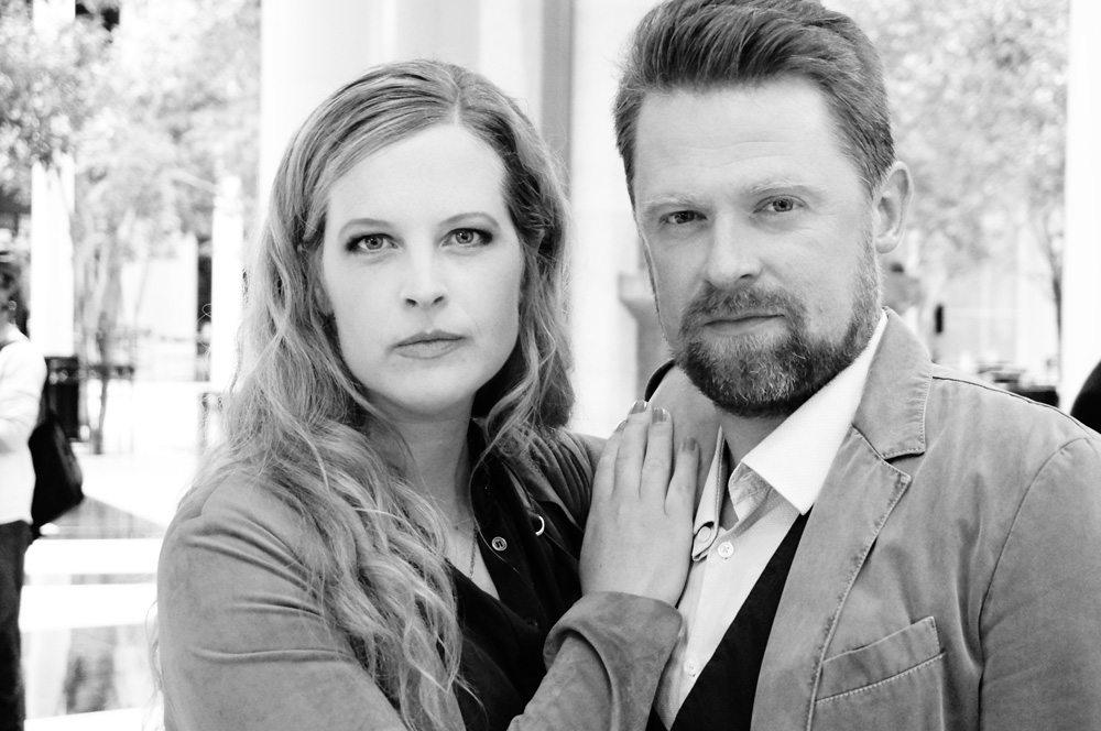 Katie Fforde in Boston mit Mathias Harrebye-Brandt