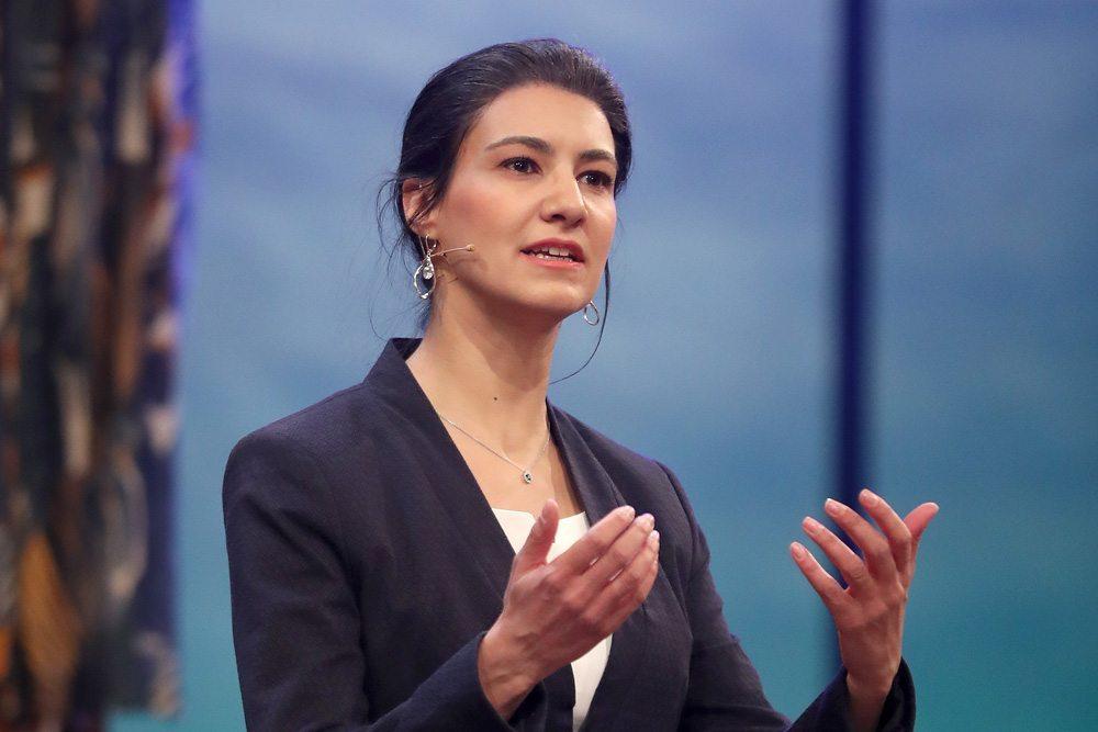 Rosetta Pedone als Sahra Wagenknecht