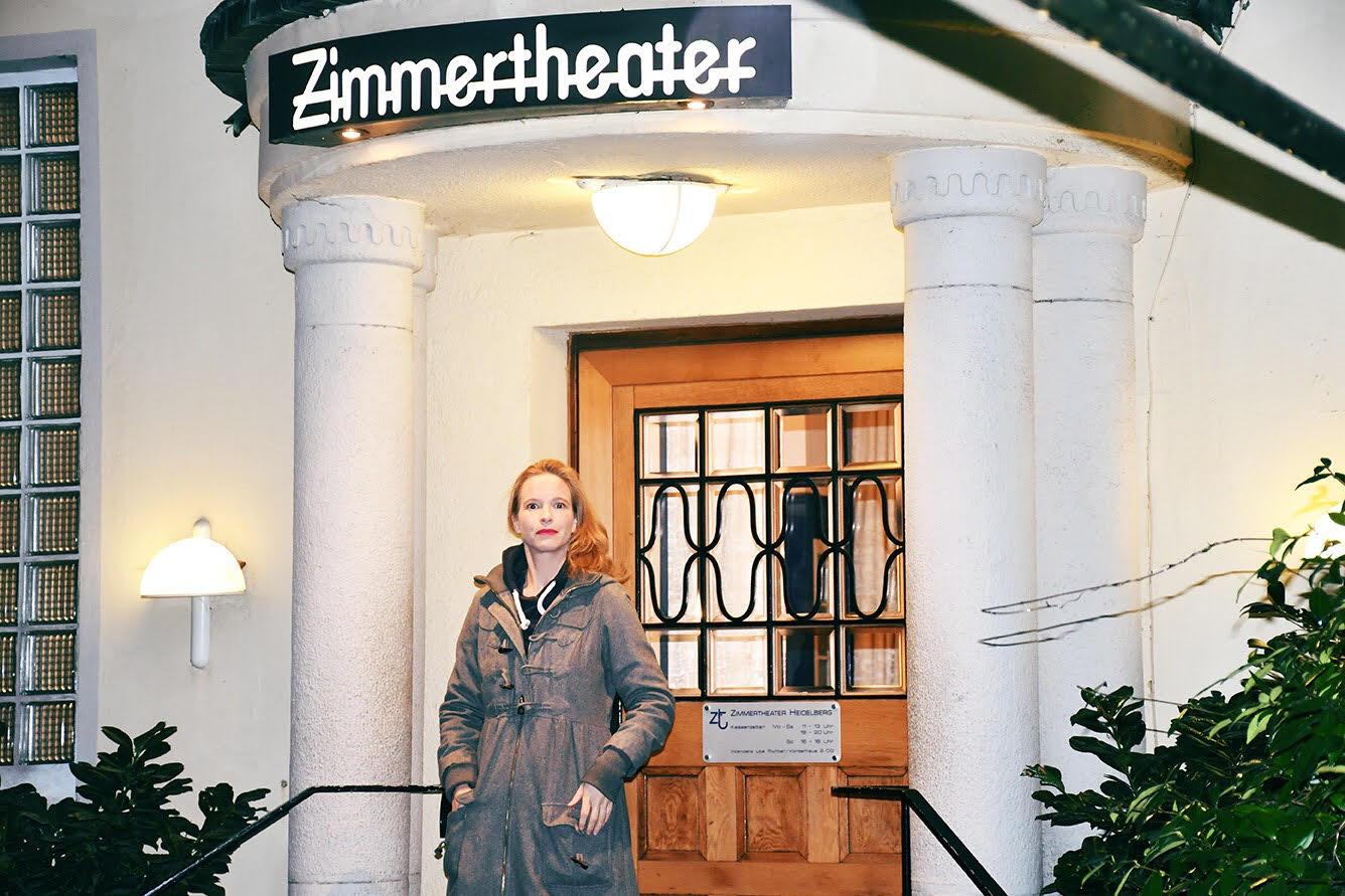 Anke Sonnentag im Zimmertheater Heidelberg