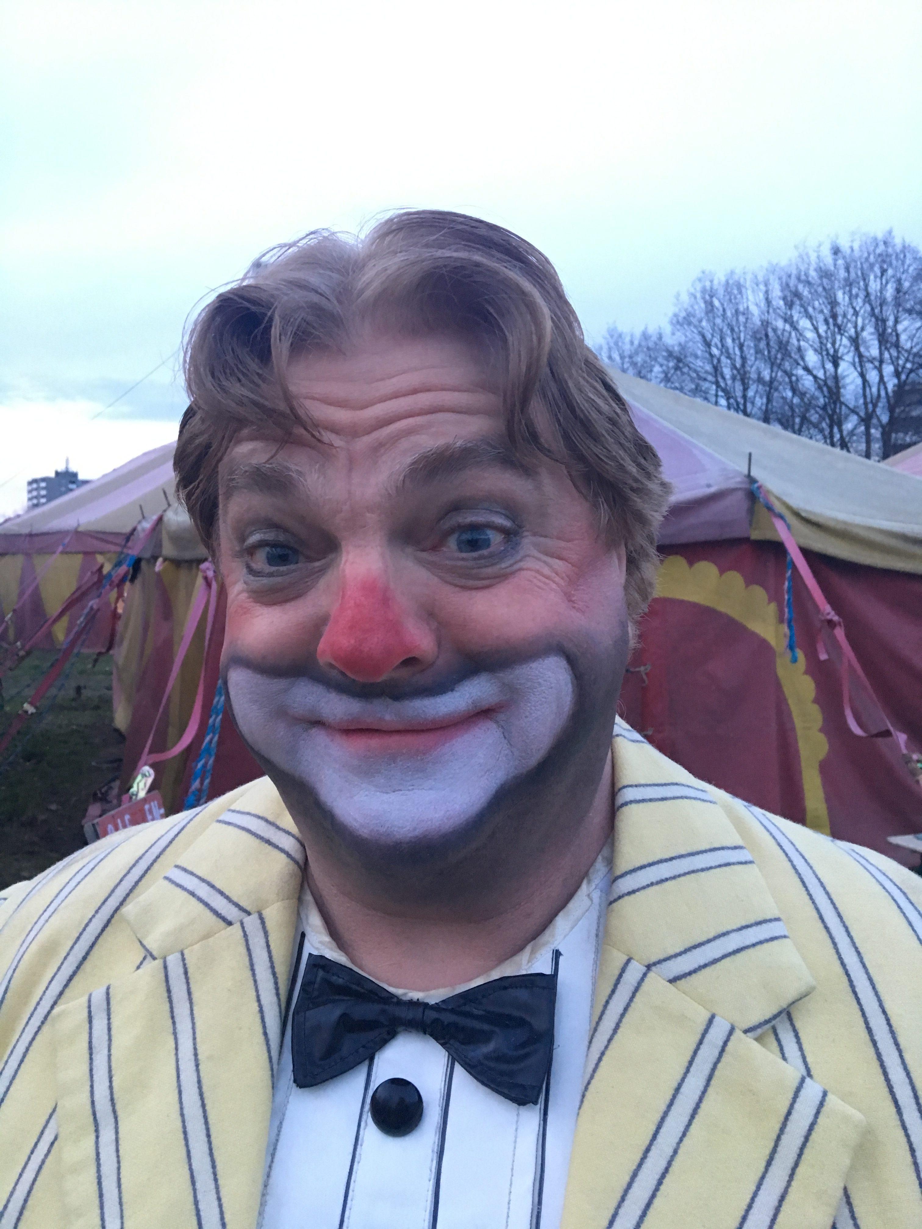 Hans-Jürgen Alf im Zirkus