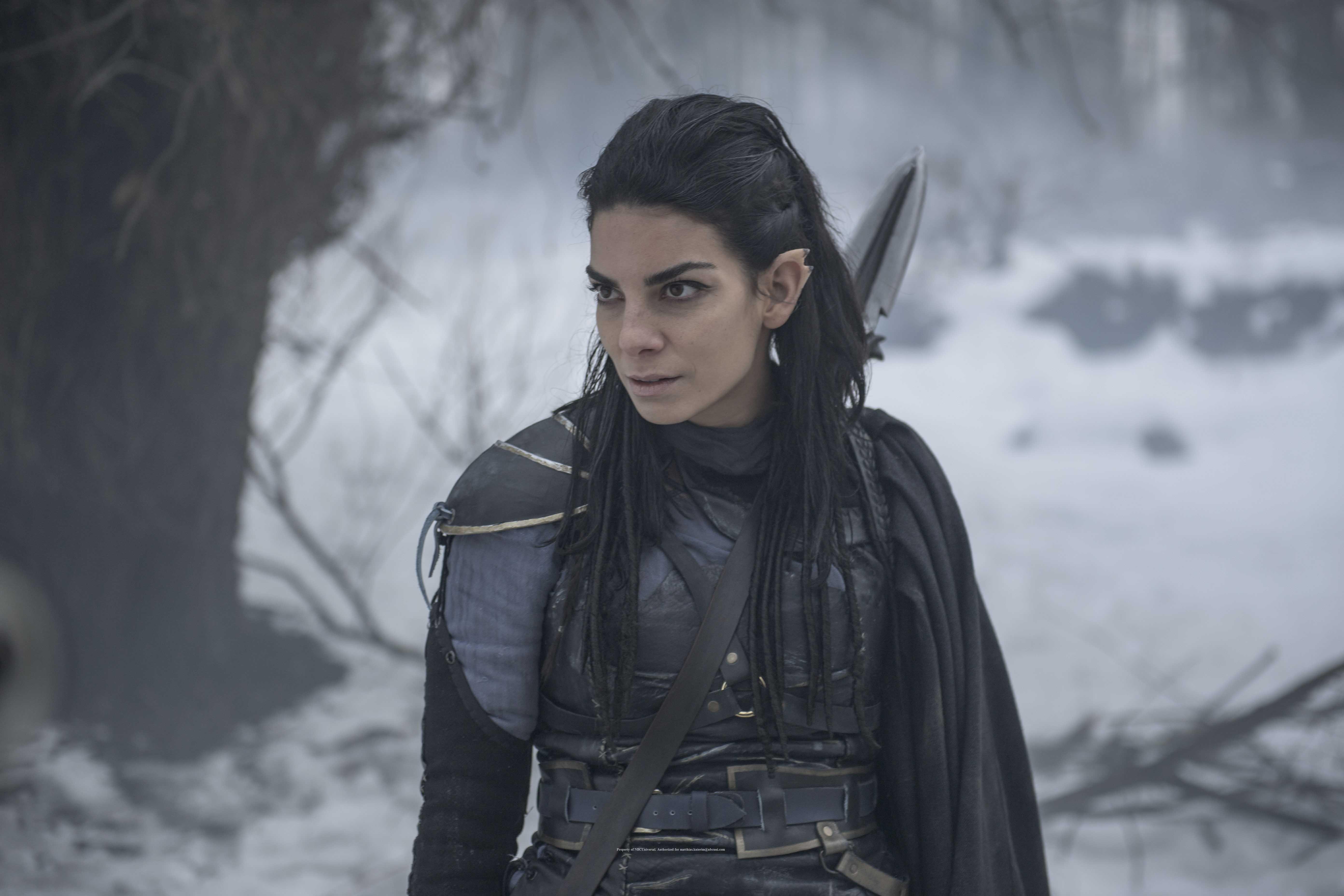 Lilli Hollunder als Fantasy Kämpferin mit Mr. Spock Ohren