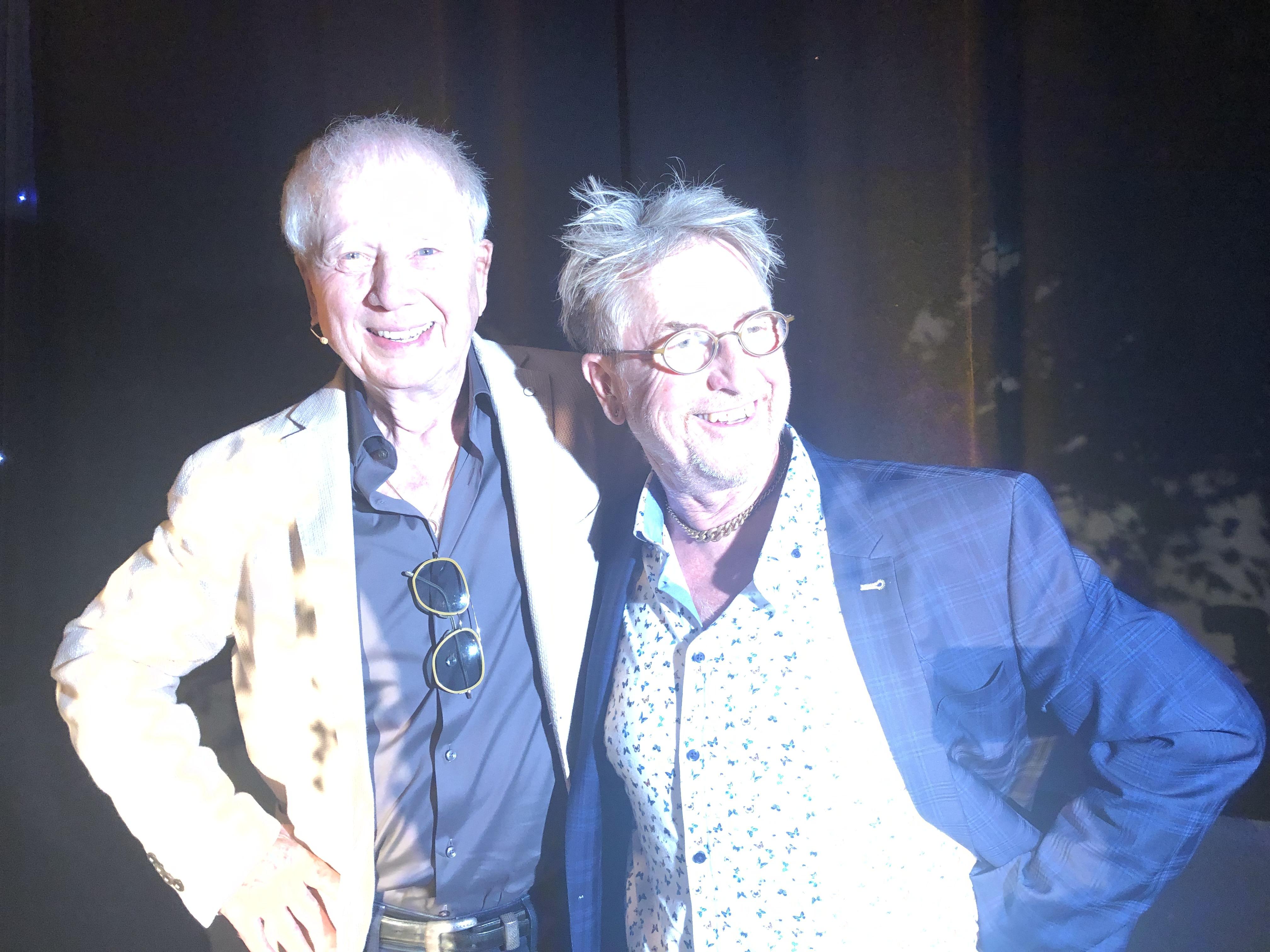 Martin Semmelrogge mit Wolfgang Petersen