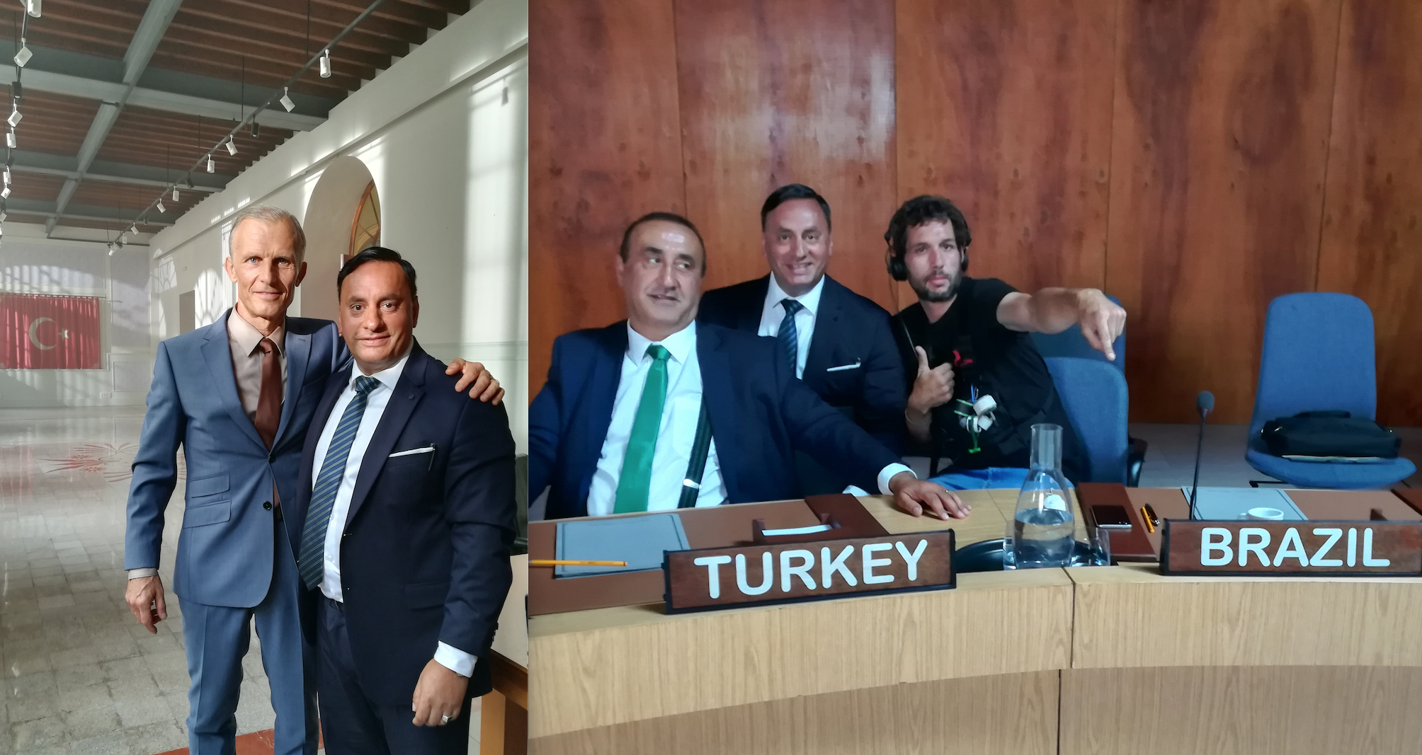 Erdal Kacar dreht auf den Balearen eine internationale Serie