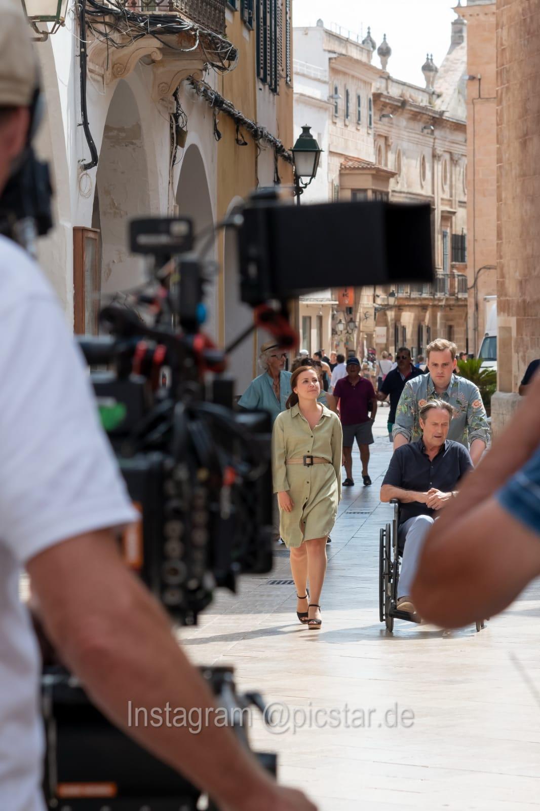 Sarah Tkotsch auf Menorca