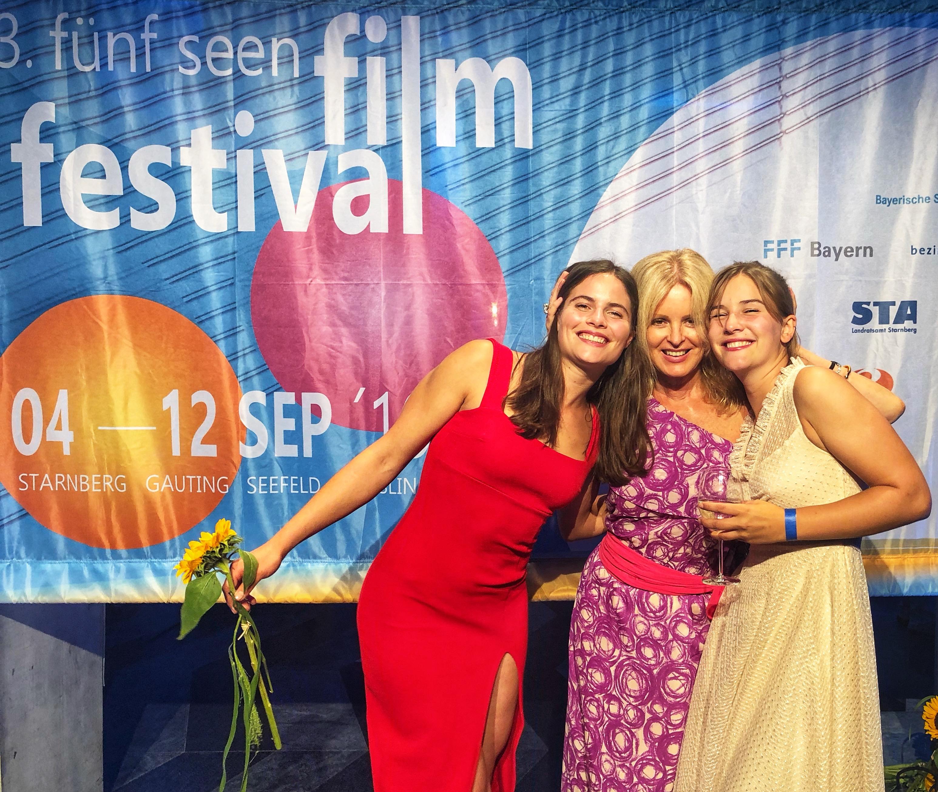 Lea Freund und Luise Hipp im Eröffnungsfilm des Fünf Seen Film Festivals