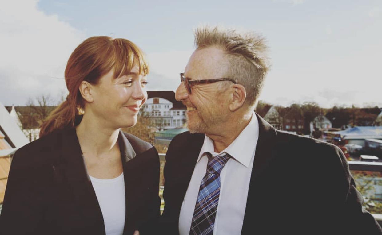 Joanna Semmelrogge dreht mit Martin Trash-Kino