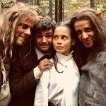 Unsere schöne Bianca als Prinzessin in Grimms Märchen