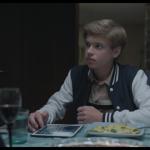 Aurel Klug in seinem ersten Kinofilm