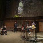 Isabelle Redfern in einem neuen Stück an der Berliner Schaubühne