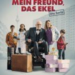Dieter und Johannes Hallervorden, Charlotte Krause und Harald Effenberg gemeinsam in einer neuen ZDF-Serie