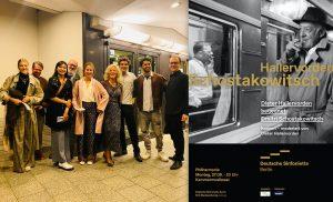 Betriebsausflug in die Berliner Philharmonie zur Deutschen Sinfonietta und Dieter Hallervorden
