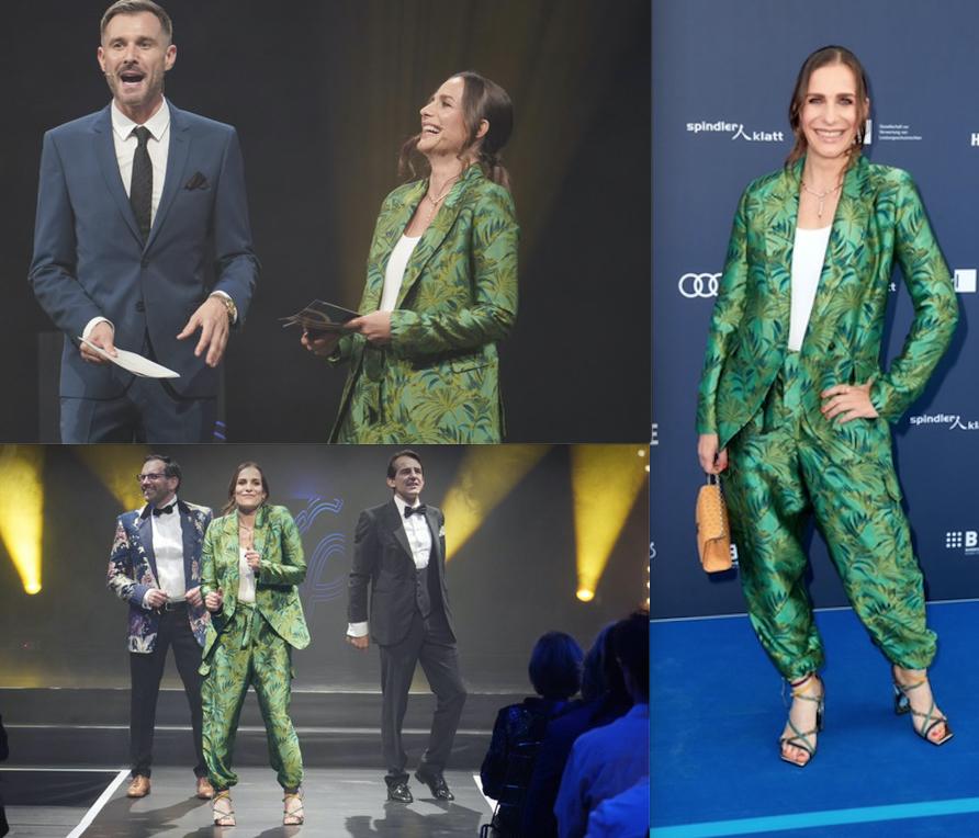 Nadine Heidenreich moderiert den Deutschen Schauspielpreis 2021